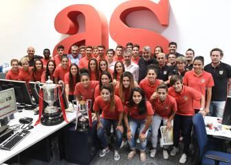 El Atleti homenajea mañana en el Calderón a sus campeones