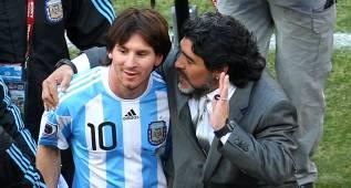 "Maradona lucha por Messi: ""Está solo; le llamaré para que siga"""