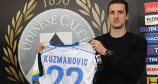 El Málaga encarrila la cesión del medio Zdravko Kuzmanovic