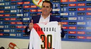 """Sandoval: """"Estoy feliz de volver a casa, la que me dio todo"""""""