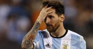 """Manifestación en Buenos Aires por Messi: """"No te vayas Lío"""""""