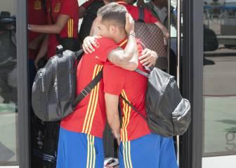 Más parchís y bostezos en el vuelo de regreso a España
