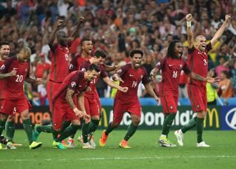 Polonia-Portugal en imágenes