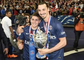 Verratti busca nuevo equipo a Ibrahimovic... en el Pescara