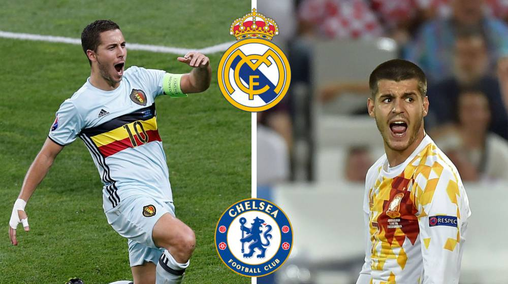 Chelsea want €50m plus Morata for a Hazard Real Madrid move
