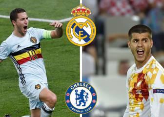 El Chelsea pide mucho dinero por un cambio Hazard-Morata