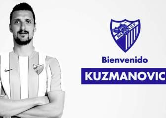 Oficial: Kuzmanovic llega cedido con opción a compra