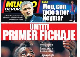 MD: ahora es el United el que va con todo a por Neymar