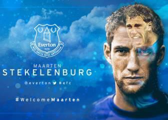 Marteen Stekelenburg, nuevo jugador del Everton
