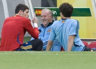 """Del Bosque, a RAC sobre Casillas: """"Creo que en próximas fechas lo arreglaremos"""