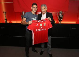 El colombiano Guillermo Celis ya es oficialmente del Benfica