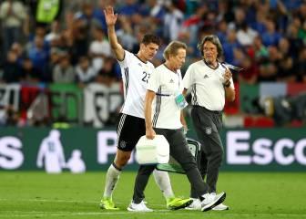 Mario Gomez se perderá el resto de la Eurocopa por lesión
