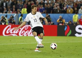 Müller no quiere volver a tirar penaltis tras su fallo ante Italia