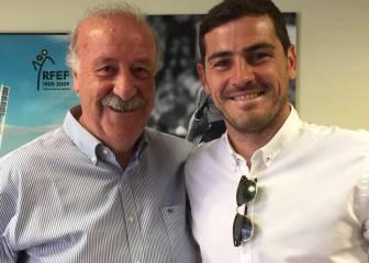 Del Bosque y Casillas, en paz: '25 años juntos y lo que queda'