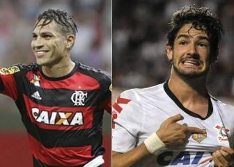 ¿Trueque entre Paolo Guerrero y Alexandre Pato en Brasil?