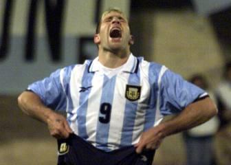 Palermo falla tres penaltis ante Colombia (1999)