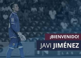 Javi Jiménez, nuevo portero de la Sociedad Deportiva Huesca