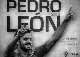 Pedro León firma con el Eibar y se despide con una carta