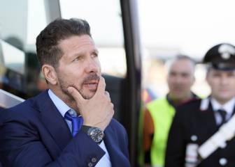 Simeone puede desvincularse del Atlético para irse a entrenar a la selección argentina