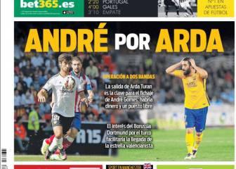 Prensa catalana: Arda Turan, el sacrificado por André Gomes