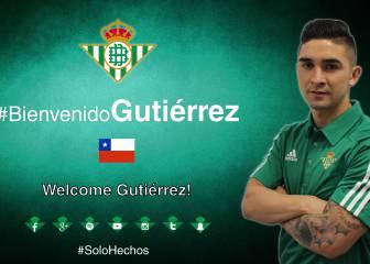 Oficial: Felipe Gutiérrez firma con el Betis por cuatro años
