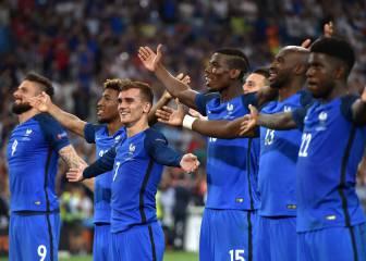 Tercera final de Francia en una Euro; quinta en su historia