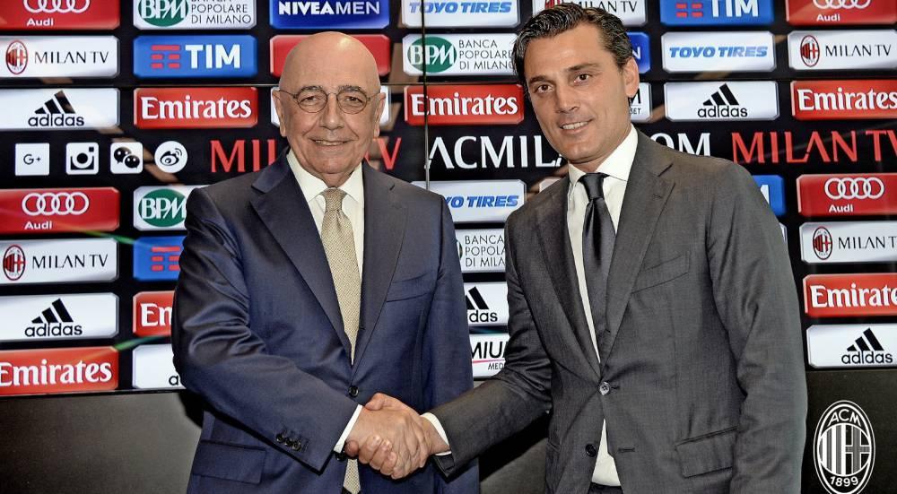 Montella, presentado como nuevo entrenador del Milan