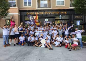 600 peñistas americanos apoyarán al Real Madrid