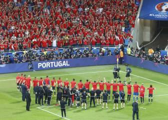 """En Gales, orgullosos: """"Héroes son todos y cada uno de ellos"""""""