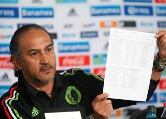 México anuncia la lista para los Juegos sin jugadores de Europa