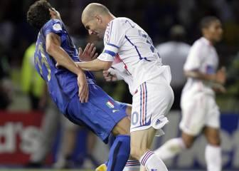 Zidane topa bruscamente con Matterazzi (2006)