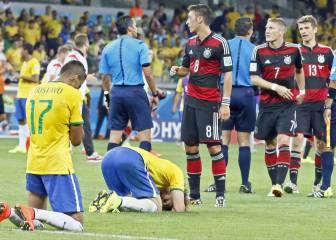8 de julio: Alemania humilla a Brasil en su Mundial (2014)
