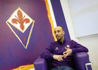 Borja Valero, en la agenda de Montella para irse al Milán