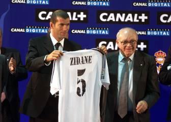 Zinedine Zidane se presentó con el Real Madrid hace 15 años