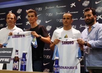 Sandro y Llorente, presentados: