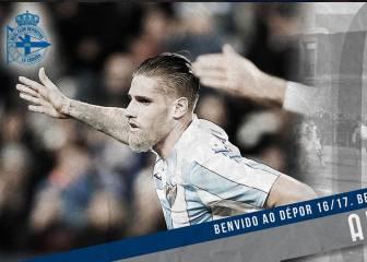 El fichaje de Albentosa por el Deportivo ya es oficial