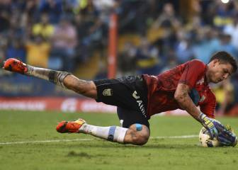 Atlético in talks for Argentine keeper Axel Werner
