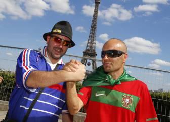 La fe de Portugal se enfrenta contra la potencia de Francia