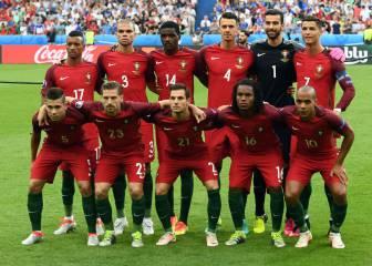 1x1 de Portugal: férrea defensa esperando el milagro que llegó
