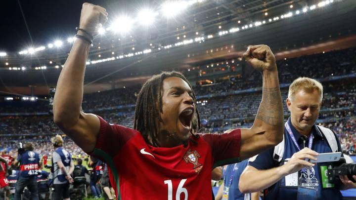 Renato Sanches, nombrado mejor joven de la Eurocopa