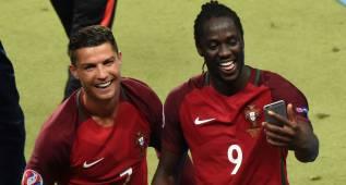 """Eder: """"Cristiano me dijo que marcaría el gol de la victoria"""""""