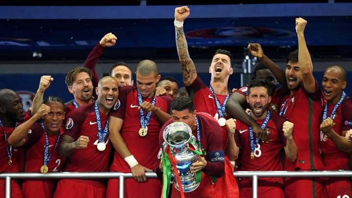 Portugal, campeón: disputará\r\nla Copa Confederaciones