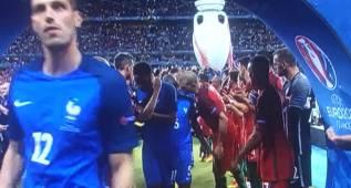 ¿En el pasillo, le habló Pepe a Kanté del Real Madrid?