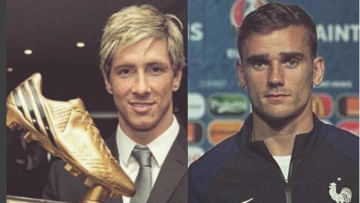 """Torres nombra a Griezmann """"su sucesor"""" en la Bota de Oro"""