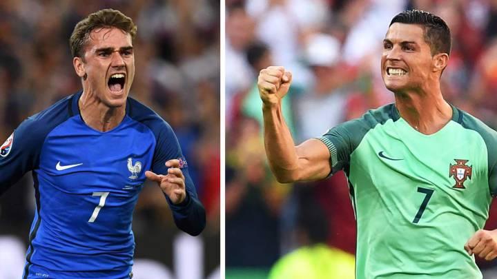 Tres del Real Madrid y uno del Atleti en el 11 ideal de la Euro