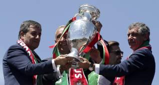 """El presidente de Portugal: """"¿Suerte? Fuimos los mejores"""""""