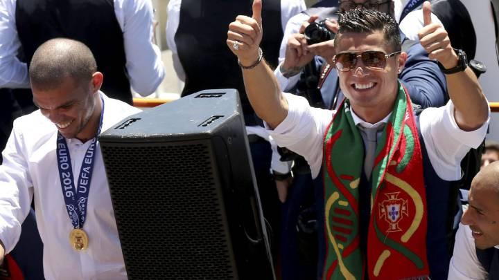 """Pepe: """"Lo máximo para un jugador es ganar con su país"""""""