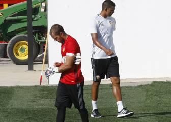 Yoel, primero en salir del Valencia; se irá cedido al Eibar
