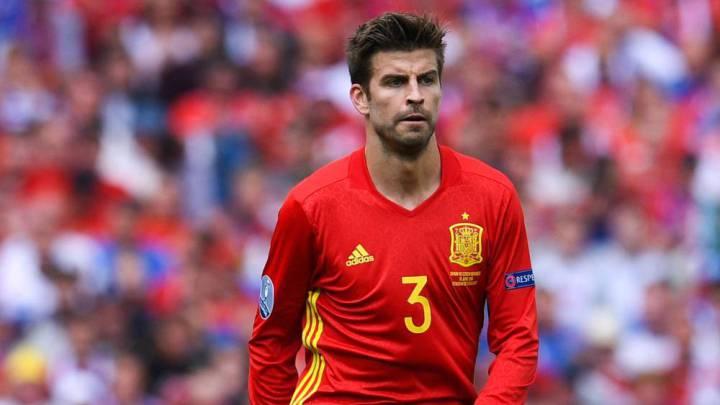 Piqué, el mejor español y el 31º de la Euro