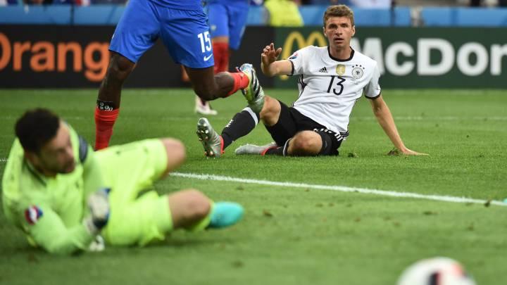 El 55% de las victorias de la Euro llegó con menos posesión